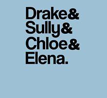 Drake & Sully & Chloe & Elena. Unisex T-Shirt