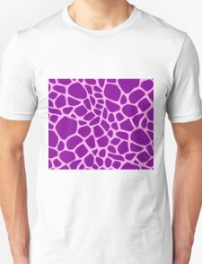 Giraffe pattern (pink and purple) T-Shirt