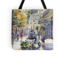 Baden-Baden Sophienstr Last Warm Day Tote Bag