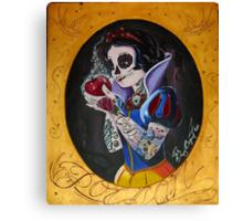 Poisoned Princess Canvas Print
