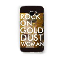 gold dust woman Samsung Galaxy Case/Skin