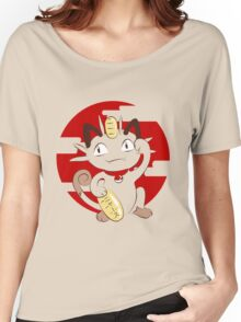 Lucky Meowth. Women's Relaxed Fit T-Shirt