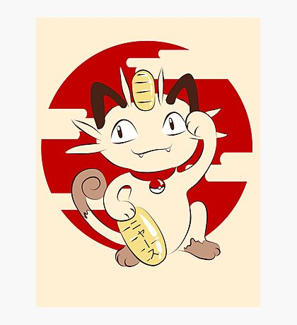Lucky Meowth. Photographic Print