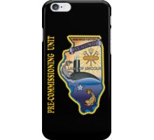 SSN-786 USS Illinois Pre-commissioning Unit Crest for Dark Colors iPhone Case/Skin