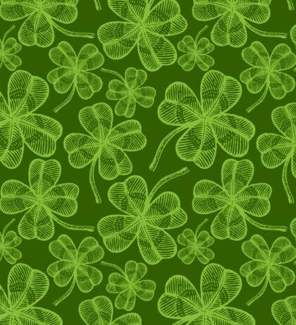 Clover pattern Sticker