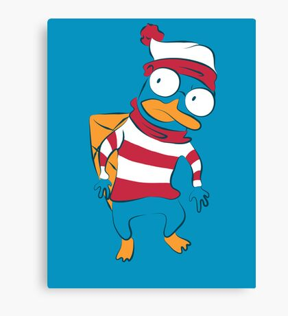 Where's Perry? Canvas Print