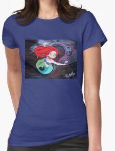 Ariel's Awakening Womens Fitted T-Shirt
