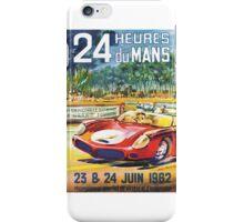 LeMans Classic 24 1962 iPhone Case/Skin