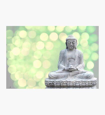 buddha lights (green) Photographic Print
