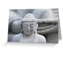 buddha hands Greeting Card