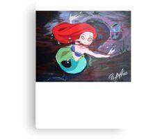 Ariel's Awakening Metal Print