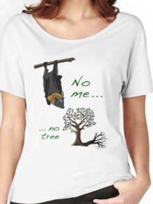 No me, no tree Women's Relaxed Fit T-Shirt