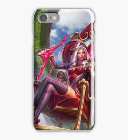 Heart Seeker Ashe - True Love at First Blood iPhone Case/Skin