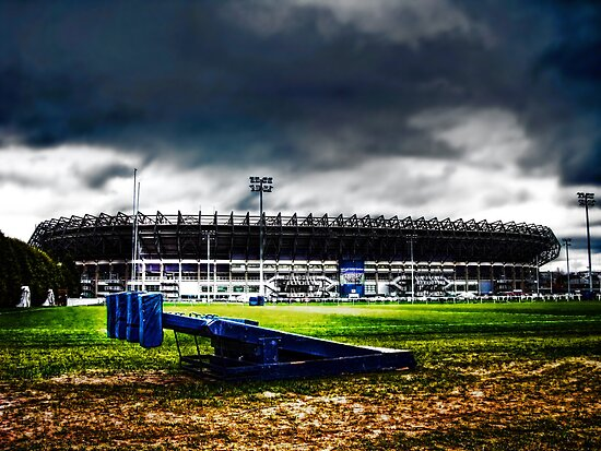 Murrayfield Stadium, Edinburgh, Scotland by Den McKervey