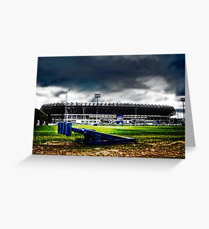 Murrayfield Stadium, Edinburgh, Scotland Greeting Card