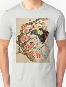 Zombie Geisha 1 T-Shirt