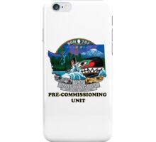 SSN-787 USS Washington Pre-commissioning Unit Crest iPhone Case/Skin