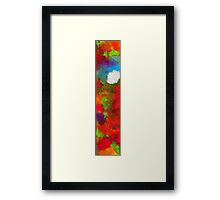 Bright Light Over Bluest Pond Framed Print