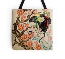 Zombie Geisha 1 Tote Bag