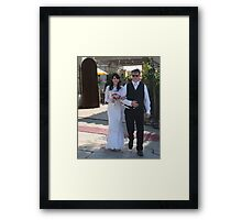tammy wedding Framed Print