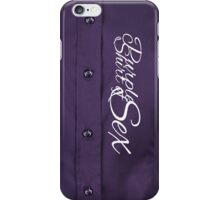 The Purple Shirt of Sex iPhone Case/Skin