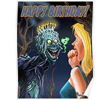 HAPPY HORRIBLE BIRTHDAY Poster