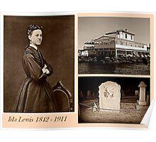 Ida Lewis, heroic Lighthouse Keeper Poster