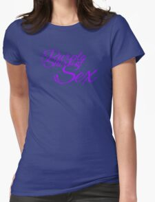 The Purple Shirt of Sex Womens Fitted T-Shirt