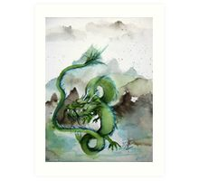 Chinese Earth Dragon Art Print