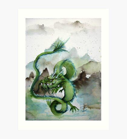 Chinese Earth Dragon Art Print