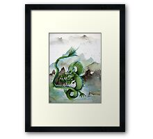 Chinese Earth Dragon Framed Print