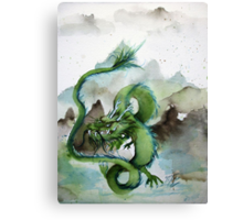 Chinese Earth Dragon Canvas Print