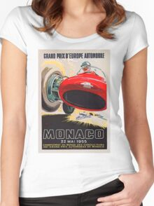Monaco Classic 1955 Women's Fitted Scoop T-Shirt