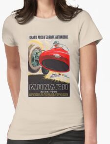 Monaco Classic 1955 Womens Fitted T-Shirt