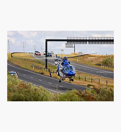 Highways are for Helicopters too Photographic Print