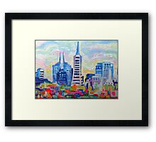 San Francisco Colors Framed Print
