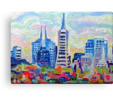 San Francisco Colors Canvas Print