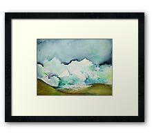 Ocean of Clouds Framed Print