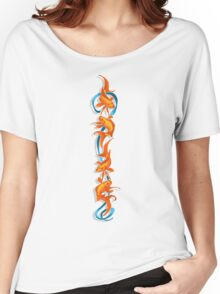 RIBBON FISH Women's Relaxed Fit T-Shirt