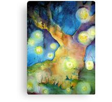 Firefly Gathering Canvas Print