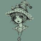 Cute Little Witch by Brett Manning