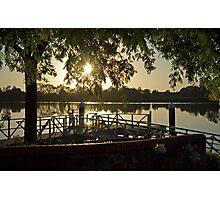 Sunrise Over the Manning, Taree Photographic Print