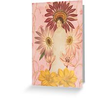 Flora Greeting Card