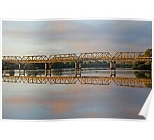 Twin Bridges Poster