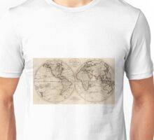Old Fashioned World Map (1795) Unisex T-Shirt