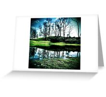 Portals and Reflections Greeting Card