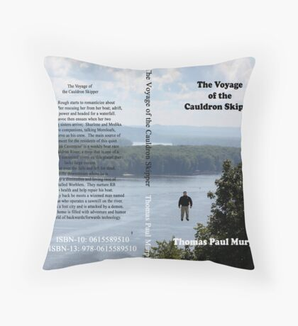 The Voyage of the Cauldron Skipper Throw Pillow