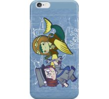 Chibi Bird and Fish iPhone Case/Skin
