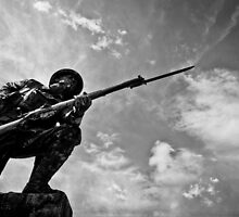 Soldier on by Stephen Rowsell