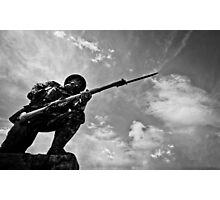 Soldier on Photographic Print